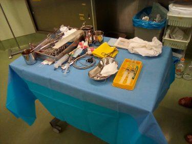 骨盤臓器脱手術で用いられる器具を紹介します(小ネタ)